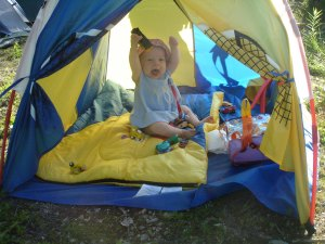 We\'re here - my first camping trip